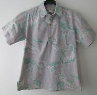 "Vintage Auth Cooke Street Hawaii USA Hawaiian Polo Shirt  42""-106.5cm S (562H)"