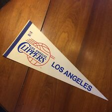Vtg Pennant NBA Los Angeles Clippers 1970s Basketball PRIORITY MAIL b