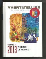 YVERT & TELLIER 2013 STAMPS ILLUSTRATOR CATALOG OF FRANCE & FAMOUS  MINI-SHEET