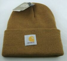 Carhartt Made in USA ships from MICH. Acrylic Watch Hat Cap A18 Carhartt Brown