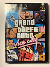 Grand Theft Auto:Vice City/First Print-Black Label/Sealed With Some Wear