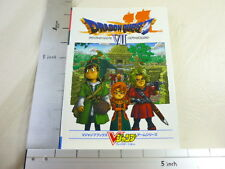 DRAGON QUEST VII 7 Eden Guide Book PS VJ*