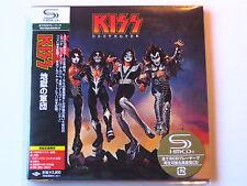 """KISS """"Destroyer"""" Japan mini LP  SHM CD"""