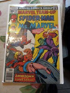 Marvel Team-Up #62 (SEAL I NEVER READ IT)1977 Marvel ComicsV.G.PREOWN