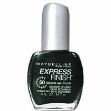 6 X MAYBELLINE EXPRESS FINISH NAIL COLOR POLISH ❤ 638 GRAND IN GREEN ❤ GLOSSI