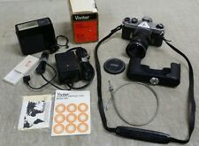 Honeywell Pentax Mamiya Sekor SPOTMATIC Camera Lot, Vivitar 28mm f:2.5, Flash...