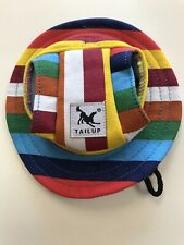 New listing Tail Up Pet Dog Hat Summer Fun Dog Hat