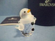 SWAROVSKI LITTLE SNOWMAN 624572 RETIRED NIB COA
