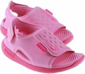 Nike Toddlers Kids Infants Girls SUNRAY ADJUST Sandal Beach Everyday Pink Fushia