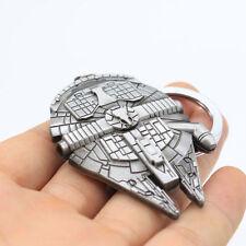 1PC Creative Star Wars Millennium Falcon Metal Keyring Keychain key Fob Gift L7S