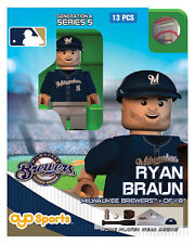 Ryan Braun OYO Milwaukee Brewers MLB Mini Figure NEW G4