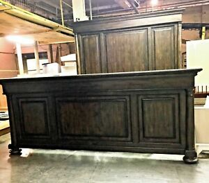 Thomasville Furniture Wheatmore Manor King Panel Bed