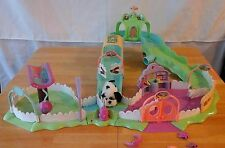 Zhu Zhu Pets Fur real Hamster Friends City Center Play Set Furry Frenzies extras