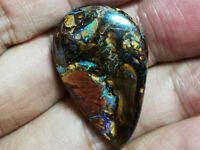 Superb 41.75CT BIG Austrlian MATRIX Boulder Opal  Polished Polished Loose GEM