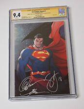 Dark Nights Metal #1 Superman  CGC 9.4 Snyder Capullo & Glapion signatures Rare