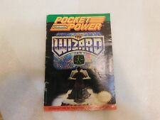 Pocket Power Nintendo Power The Wizard Movie Mini Magazine