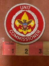 UNIT COMMISSIONER Boy Scouts Patch 86H2