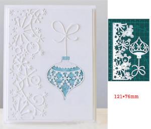 Snowflake Lace/Christmas Metal Cutting Dies Embossing Scrapbooking Stencil Craft