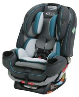 Graco Baby 4Ever Extend2Fit All-in-1 Convertible Car Seat Infant Booster Seaton