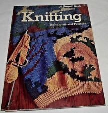 Knitting Techniques Projects Instructions Sunset Book Toy Sweater Scarf Ideas PB