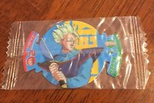 Rare Dragon Ball Z Dizk Series 3 Fusion Fighter Tazo Sealed Number 7 Mystic Goha
