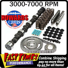 """HOWARD'S SBC Small Block Chevy Solid Flat Tappet 283/291 510""""/505"""" 106° Cam Kit"""