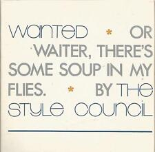 Style Council (Paul Weller) - Wanted 1987 CD single