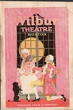 THE BAT - Vintage 1923 Wilbur Theatre Booklet - Boston MA