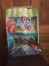2010 McDonalds Star Wars Clone Wars & Strawberry Shortcake Happy Meal Display
