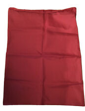 "New Red 27""x 37"" Large Laundry Bag, 100% Nylon, Drawstring Closure"