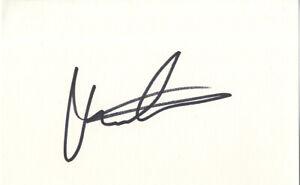 Martina Navratilova - Legendary Czech & American Tennis Player I/P Signed Card.