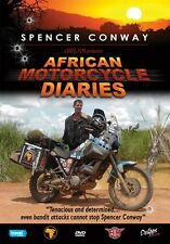 Spencer Conway - African Motorcycle Diaries  (New DVD) Road Trip Adventure