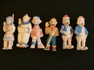 6 Howdy Doody Show Tee-Vee Toy Collection Kagran Plastic -