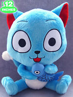 "Fairy Tail Plush Doll HAPPY 12""/30cm  UK Stock * Shipping to all countries HAPPY"