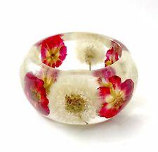 Bracelet Dandelion & Rose  Made In USA Size Medium