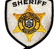 PINAL COUNTY ARIZONA AZ Sheriff Police Patch