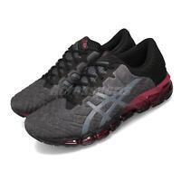 Asics Gel-Quantum 360 5 Black Grey Red Men Running Shoes Sneakers 1021A186-001