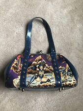 Hold Fast Kiss Lock Custom ONE OF A KIND Retro Rockabilly Handbag Purse Tote