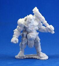 Ogre Chieftain Reaper Bones Dark Heaven 77005 Fantasy Miniature Unpainted