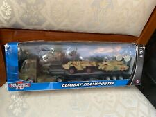 TEAMSTERZ CITY COMBAT TRANSPORTER NEW SEALED DAMAGED PACKAGING