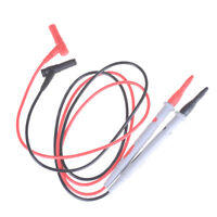 2pcs/set Needle Tipped Tip Multimeter Probes Test Leads Tester 1000V 10A Cable F