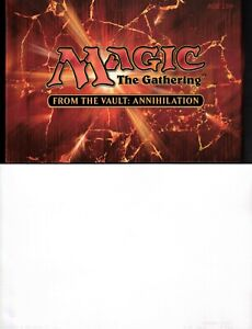 MAGIC THE GATHERING FROM THE VAULT ANNIHILATION UNOPENED BOX
