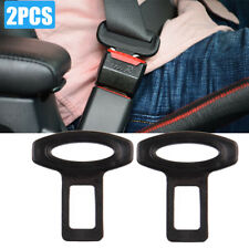 New Listing2× Car Truck Seat Belt Safe Buckle Plug Clasp Clip Alarm Stopper Car Accessories (Fits: Safety Bus)