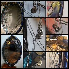 Unique Chained Necklace wall mirror