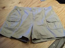 Outdoor Outfitters Heavy Twill Cotton Cargo Shorts SZ:  46...Color:  Khaki