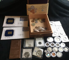 Old us coin collection lot *Old,  Silver, Copper* Cigar Box