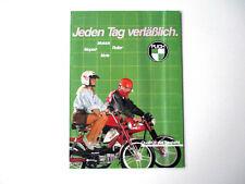 PUCH Prospekt Katalog 1986 Maxi X30 Chopper Turbo Lido Condor Imola Racing Steyr
