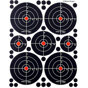 Crosman Visible Impact Splatter Targets  Airgun Rifle Pistol Targets [35 Pack]