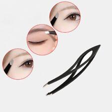Pro Ingrown Hair Eyebrow Eyelash Slanted Hair Removal Tweezers Stainless Steel