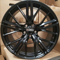 """20"""" New ZL1 Style Wheels Black Stagger Rims Lexani Tires Fit Camaro RS SS Z28"""